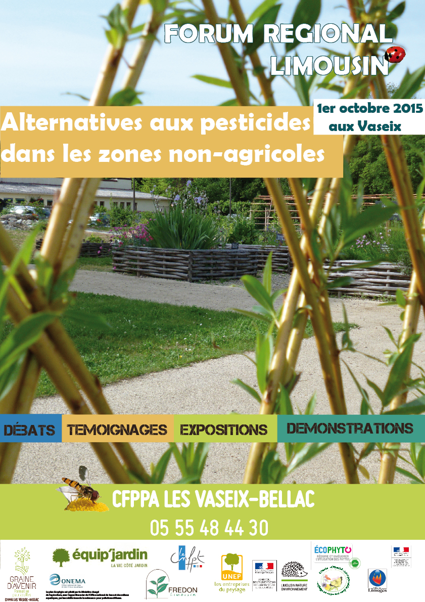 FORUM REGIONAL ALTERNATIVES AUX PESTICIDES DANS LES ZNA